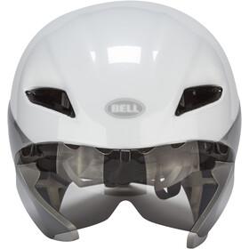 Bell Javelin Aero Kask rowerowy, white/silver